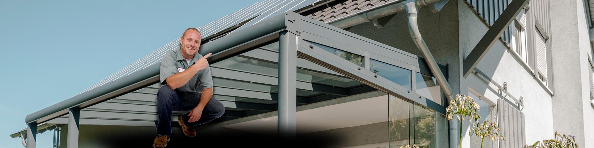 l nger draussen alu terrassen berdachung aluminium terrassendach carport wintergarten. Black Bedroom Furniture Sets. Home Design Ideas