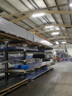 überdachung aus aluminium selbstaufbau