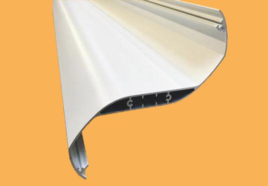 Dacheindeckung Lamellendach