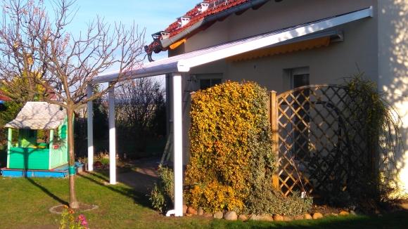 Alu-Terrassenüberdachung von Länger Draussen in Großenhain