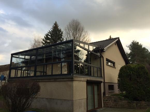 Alu-Terrassenüberdachung von Länger Draussen in xxx