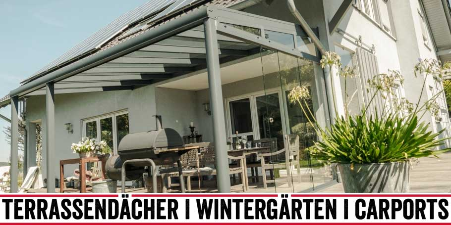 Langer Draussen Sauerland Home Terrassenuberdachung