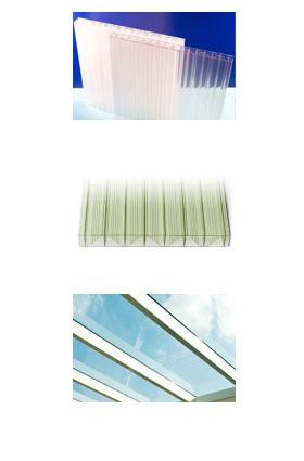 Polykarbonatplatten  oder Verbundsicherheitsglas (VSG)